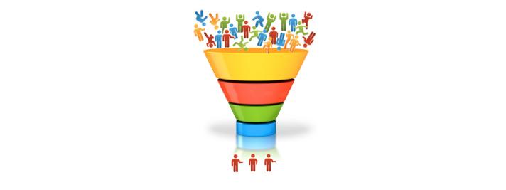 Cómo gestionar una empresa de servicios: Embudo de ventas
