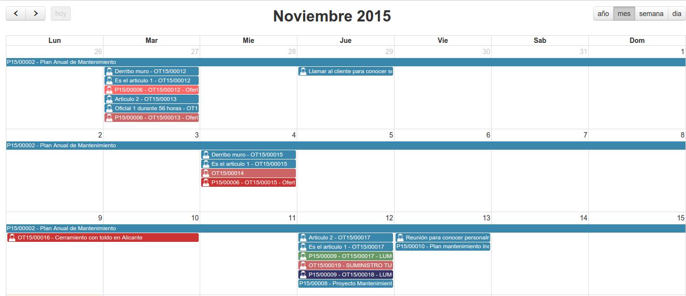 CRM-calendario