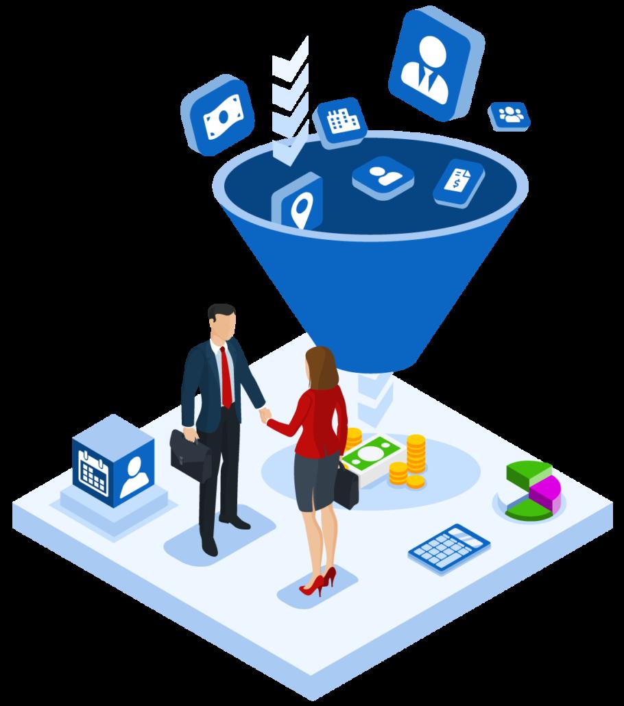 CRM gestion de ventas Fixner
