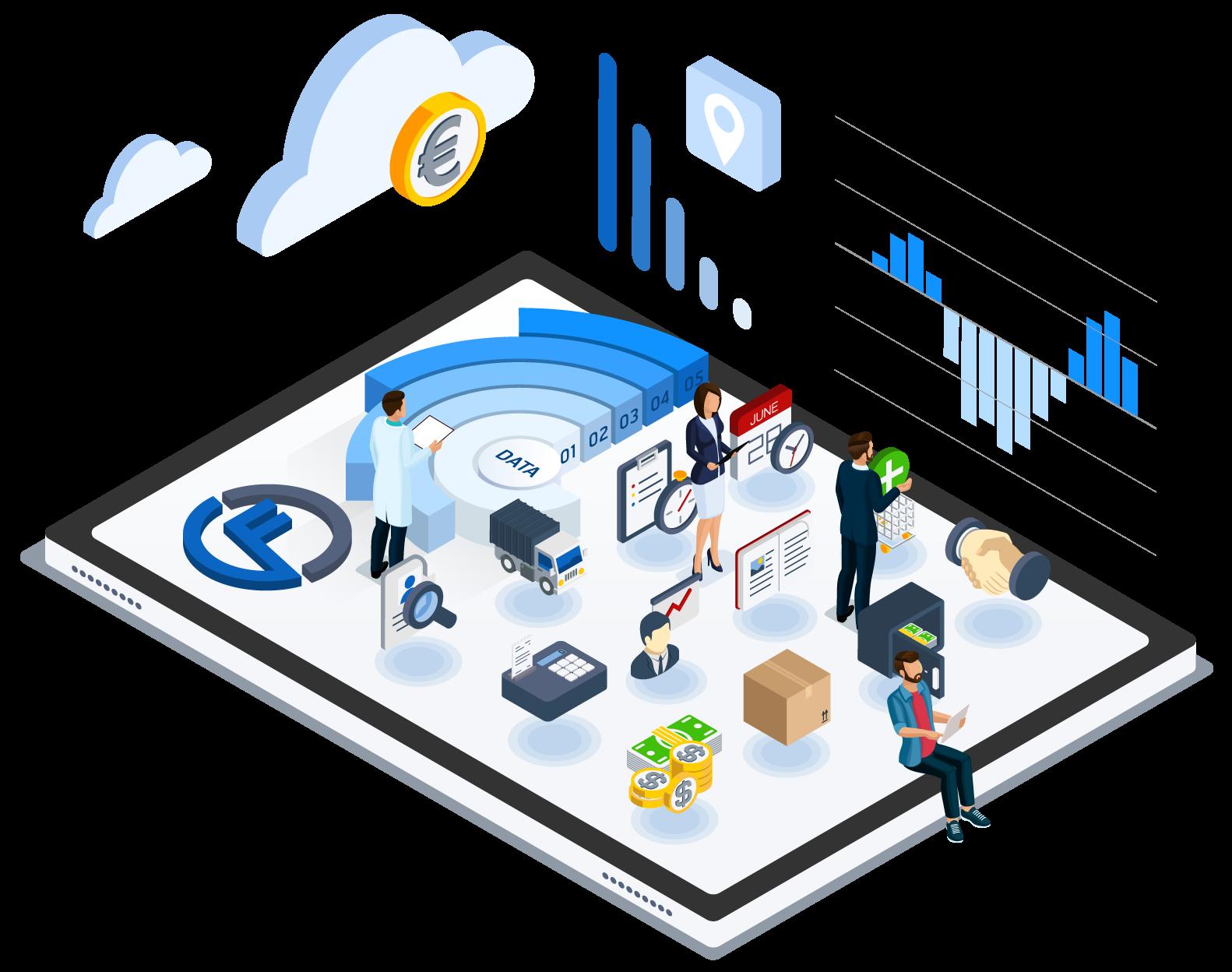 funcionalidades software de gestion