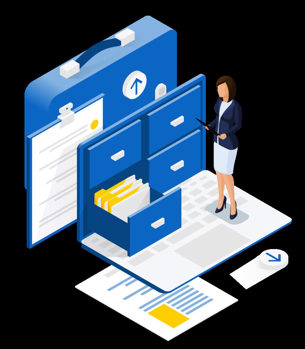 funciones software de gestión empresarial de catalogos