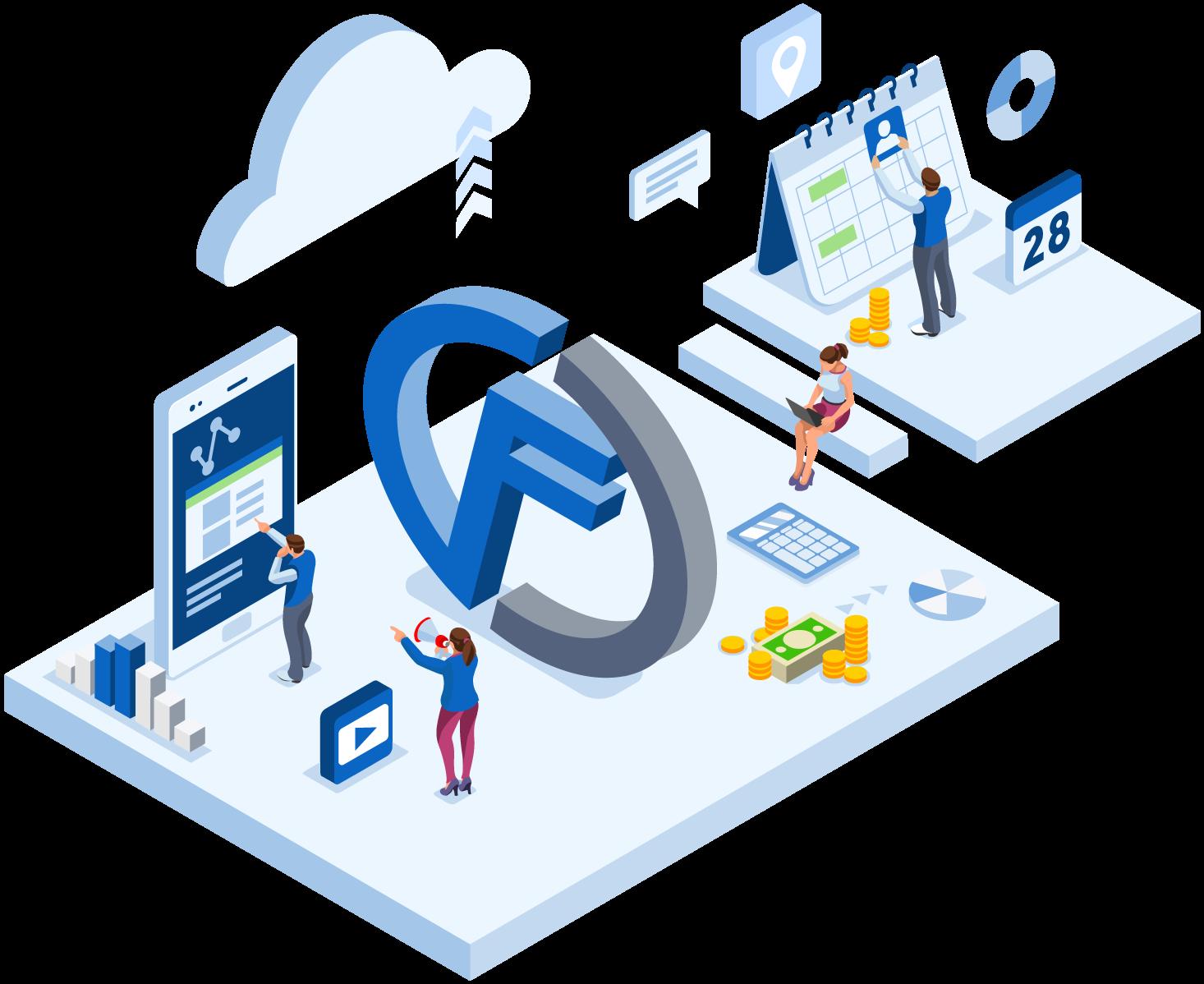Software de gestion para empresas de servicios en la nube